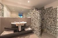 clean bathroom of Saint Barth Villa Lagon Jaune Estate luxury holiday home, vacation rental