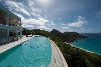 cool pool of Saint Barth Luxury Villa Gouverneur Estate holiday home, vacation rental