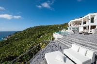 impressive architecture of Saint Barth Luxury Villa Gouverneur Estate holiday home, vacation rental