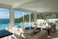 cool balcony of Saint Barth Luxury Villa Gouverneur Estate holiday home, vacation rental