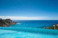 fantastic infinity pool of Saint Barth Luxury Villa Gouverneur Estate holiday home, vacation rental