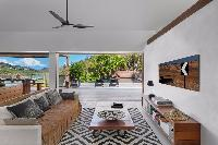 cool living room in Saint Barth Villa Apache luxury holiday home, vacation rental