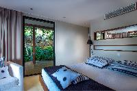 fresh bed sheets in Saint Barth Villa Apache luxury holiday home, vacation rental