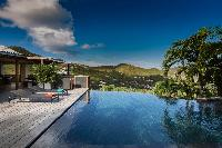 cool pool of Saint Barth Villa Apache luxury holiday home, vacation rental