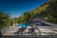 cool deck of Saint Barth Villa Apache luxury holiday home, vacation rental