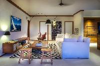 cool sitting area in Saint Barth Villa Apache luxury holiday home, vacation rental