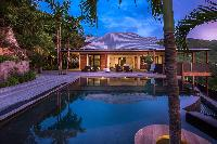 cool swimming pool of Saint Barth Villa Apache luxury holiday home, vacation rental