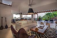 cozy lounge at Saint Barth Villa Apache luxury holiday home, vacation rental