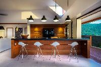 cool dining area in Saint Barth Villa Apache luxury holiday home, vacation rental