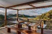 cool veranda of Saint Barth Villa Apache luxury holiday home, vacation rental