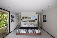 pristine bedding in Saint Barth Villa Apache luxury holiday home, vacation rental