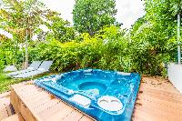 cool whirlpool at Saint Barth Luxury Villa Florelien holiday home, vacation rental