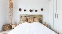 fresh bed sheets in Saint Barth Villa Ixfalia luxury holiday home, vacation rental