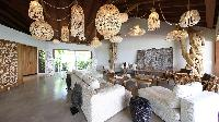 cool sitting area in Saint Barth Villa Ixfalia luxury holiday home, vacation rental