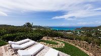 cool deck of Saint Barth Villa Ixfalia luxury holiday home, vacation rental