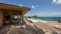 beautiful seafront Saint Barth Villa Ixfalia luxury holiday home, vacation rental