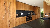 modern kitchen appliances in Saint Barth Villa Ixfalia luxury holiday home, vacation rental