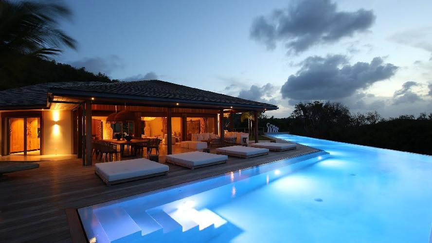 beautiful Saint Barth Villa Ixfalia luxury holiday home, vacation rental