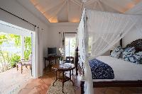 clean bed sheets in Saint Barth Luxury Villa Cocoland holiday home, vacation rental
