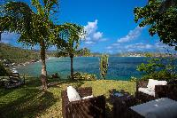 cool balcony of Saint Barth Luxury Villa Cocoland holiday home, vacation rental