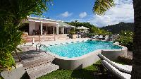 cool swimming pool of Saint Barth Luxury Villa Cocoland holiday home, vacation rental