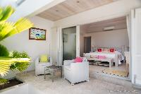 breezy and bright Saint Barth Villa Rose Des Vents holiday home, luxury vacation rental