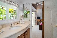 clean lavatory in Saint Barth Villa Rose Des Vents holiday home, luxury vacation rental
