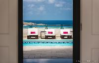 cool poolside of Saint Barth Villa Rose Des Vents holiday home, luxury vacation rental