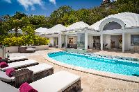 cool swimming pool fo Saint Barth Villa Rose Des Vents holiday home, luxury vacation rental