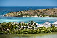 beautiful sea view from Saint Barth Villa Rose Des Vents holiday home, luxury vacation rental