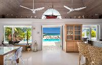 airy and sunny Saint Barth Villa Rose Des Vents holiday home, luxury vacation rental