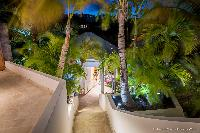 cool garden of Saint Barth Villa Rose Des Vents holiday home, luxury vacation rental