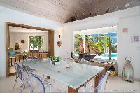 sunny and airy Saint Barth Villa Rose Des Vents holiday home, luxury vacation rental