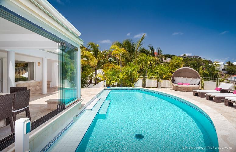beautiful Saint Barth Villa Rose Des Vents holiday home, luxury vacation rental