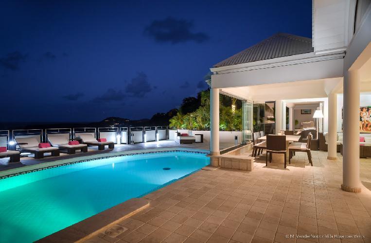 enchanting Saint Barth Villa Rose Des Vents holiday home, luxury vacation rental