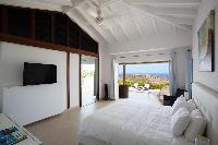 pleasant bedroom in Saint Barth Villa Rose Dog Estate holiday home, luxury vacation rental
