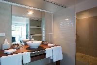 nice lavatory in Saint Barth Villa Rose Dog Estate holiday home, luxury vacation rental