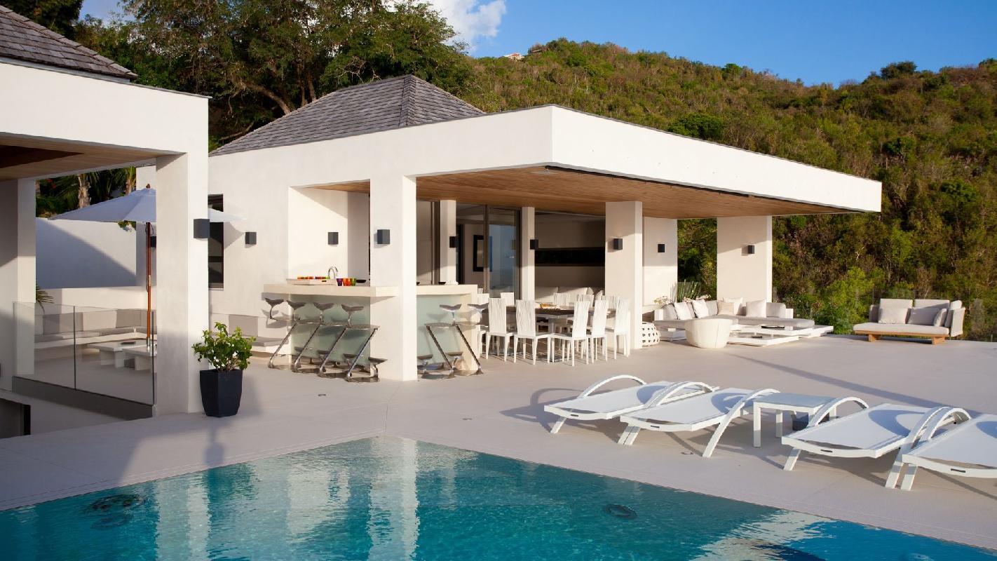 perfect Saint Barth Villa Vitti luxury holiday home, vacation rental