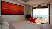 clean bed sheets in Saint Barth Villa Vitti luxury holiday home, vacation rental
