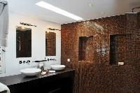 clean bathroom in Saint Barth Villa Wastra luxury holiday home, vacation rental