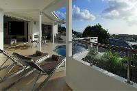 cool patio of Saint Barth Villa Wastra luxury holiday home, vacation rental