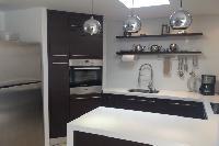modern kitchen appliances in Saint Barth Villa Wastra luxury holiday home, vacation rental