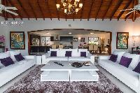 cool living room of Saint Barth Villa Bellevue luxury holiday home, vacation rental