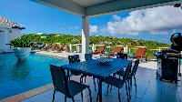 cool cabana of Saint Barth Villa Bellevue luxury holiday home, vacation rental