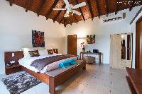 fresh bedding in Saint Barth Villa Bellevue luxury holiday home, vacation rental