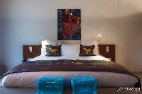 pristine bedding in Saint Barth Villa Bellevue luxury holiday home, vacation rental