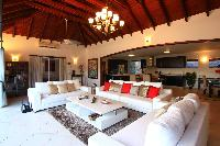 cool sitting area in Saint Barth Villa Bellevue luxury holiday home, vacation rental