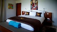 fresh bedroom linens in Saint Barth Villa Bellevue luxury holiday home, vacation rental