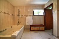 cool tub and shower in Saint Barth Villa Bellevue luxury holiday home, vacation rental