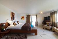 clean bed sheets in Saint Barth Villa Bellevue luxury holiday home, vacation rental